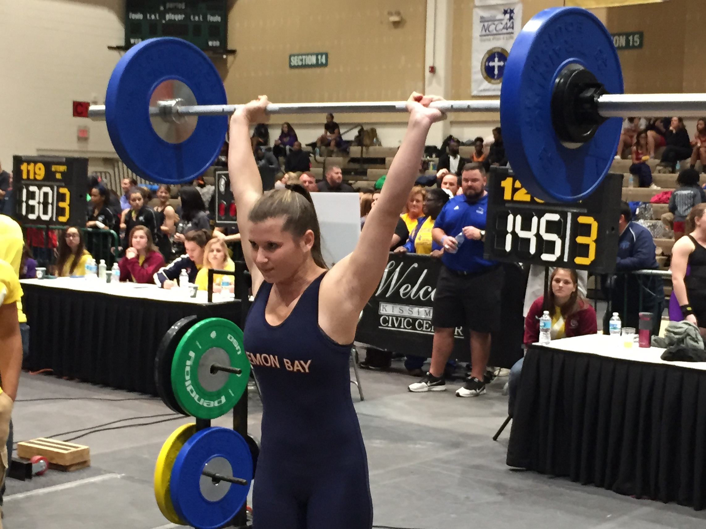 Weightlifting Lemon Bay Girls Gain Valuable Experience At State