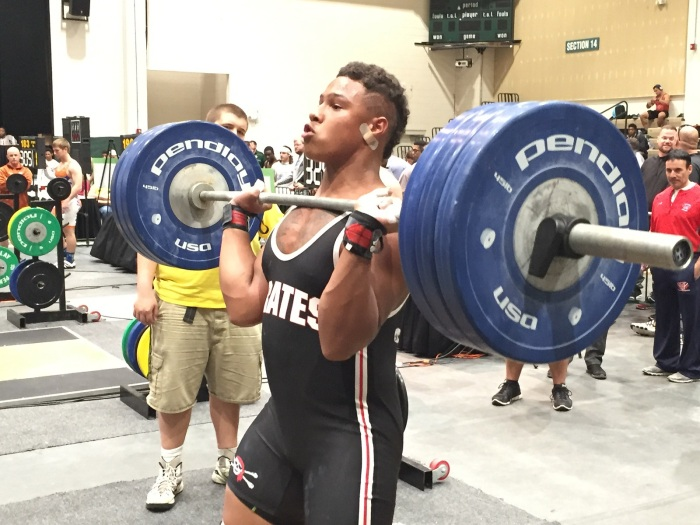 Port Charlotte's Devin Leacock finished sixth at 238 pounds in Saturday's stat championship meet. Sun photo by Bryan Levine