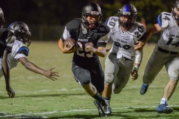 Port Charlotte's Matt Mcgee will be one of the rushers the Pirates will count on to help replace all-time single-season rushing leader Brennan Norus next season. Sun file photo by Jennifer Bruno
