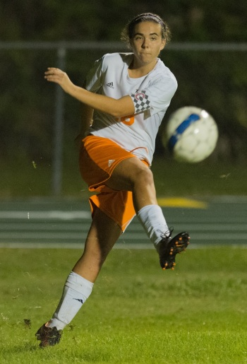 Lemon Bay's Summer Rusher during the 2015-16 girls soccer season. Sun file photo by John Kersten