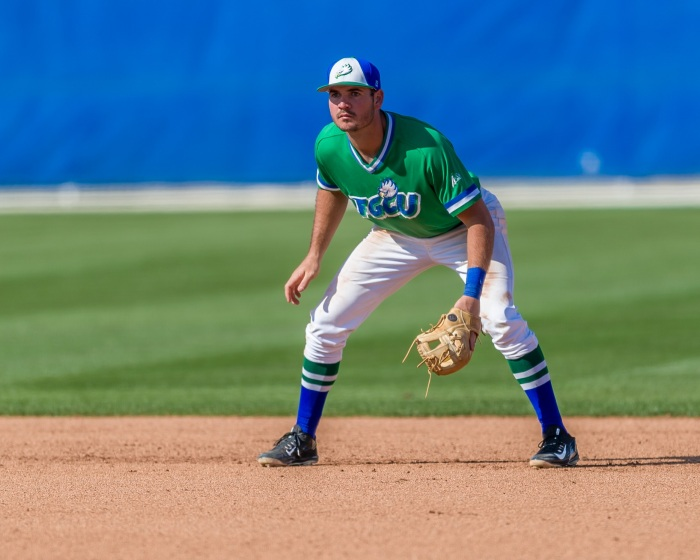 Former Charlotte High School star Jake Noll is now a standout at FGCU and MLB draft prospect. Photo provided by Linwood Ferguson