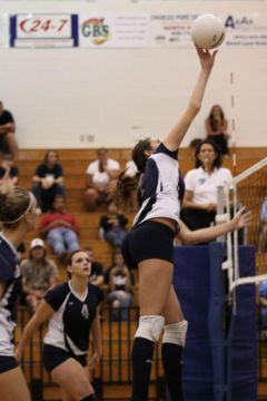 Andrienne Moreno playing for North Port in 2011. Sun file photo by Tami Garcia