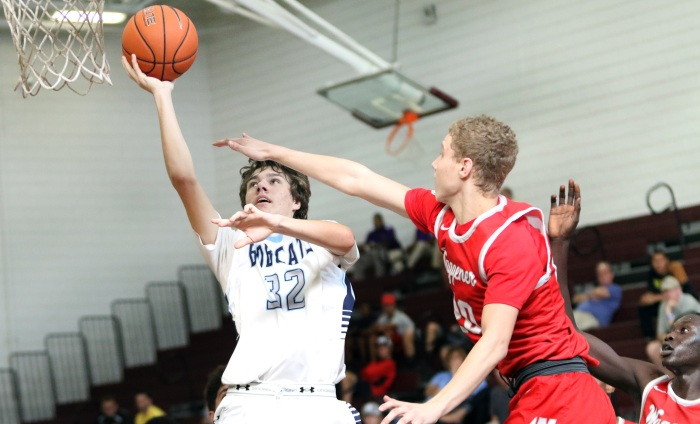 North Port's Ben Vis attempts a shot Wednesday (Sun Photo by Michele Haskell)