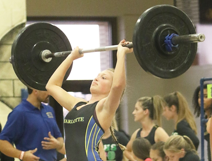 Girls Weightlifting Charlotte North Port Go 1 2 At Lady Tarpon